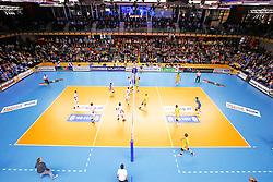 20150426 NED: Eredivisie Landstede Volleybal - Abiant Lycurgus, Zwolle<br />Overview vol Landstede Sportcentrum - Zwolle<br />©2015-FotoHoogendoorn.nl / Pim Waslander