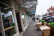 With news of an outbreak in town, locals stayed indoors leaving the main street empty during COVID-19 in Kilmore, Australia. An outbreak which started in Chadstone in Melbourne, has spread as far as Benalla. Twenty-eight people linked to the outbreak have now tested positive for COVID-19. There are now two confirmed cases in Kilmore linked with a Melbourne Resident who carried the virus into the town. The person visited the Odd Fellows Cafe in Kilmore which lead to him spreading the virus to a staff member, and a customer. The cafe has been closed for deep cleaning and will remain closed until the 19th October. (Photo by Dave Hewison/Speed Media)