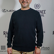 London, England, UK. 25th September 2017. Director Timur Makarevic of Nothing but the wind attend Raindance Film Festival Screening at Vue Leicester Square, London, UK