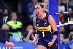 INDRE SOROKAITE (ITALIA)<br /> ITALIA - SERBIA<br /> PALLAVOLO VNL VOLLEY FEMMINILE 2019<br /> CONEGLIANO (TV) 30-05-2019<br /> FOTO GALBIATI - RUBIN