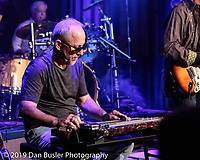 """Steve Lott """"The West Texas Refugee"""" brought his own blues band to The Extended Play Sessions - Fallout Shelter in Norwood MA on October 4, 2019,"""