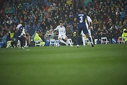 November 26, 2019, Madrid, Madrid, Spain: Eden Hazard (midfielder; Real Madrid) in action during the UEFA Champions League match between Real Madrid and Paris Saint-Germain at Santiago Bernabeu Stadium on November 26, 2019 in Madrid, Spain (Credit Image: © Jack Abuin/ZUMA Wire)