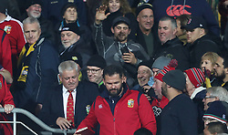 British and Irish Lions head coach Warren Gatland after the tour match at the Westpac Stadium, Wellington.