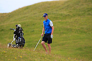 Evan Farrell (Ardee) on the 4th during Matchplay Round 2 of the South of Ireland Amateur Open Championship at LaHinch Golf Club on Friday 22nd July 2016.<br /> Picture:  Golffile | Thos Caffrey<br /> <br /> All photos usage must carry mandatory copyright credit   (© Golffile | Thos Caffrey)