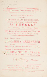Munster Senior and Minor Hurling Championship Finals,.30.07.1939, 07.30.1939, 30th July 1939,.Senior Cork v Limerick,.Minor Cork v Clare,..