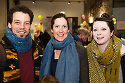 31/01/2018  retro free : Juillaume Jirault from Fort Lorenzo Lindsay Deely, Toodlelou Creativity Lab  and Ailish Deely Arts Pychotherapy Galway at the launch of Wide Eyes, a unique one-off European arts extravaganza for babies and children aged 0 – 6. Hosted by Baboró, Wide Eyes will take place in Galway till Sun 4 February. This imaginative programme will feature 15 new theatre and dance shows from some of Europe's finest creators of Early Years work from Austria, Belgium, Denmark, Finland, France, Germany, Hungary, Italy, Poland, Romania, Slovenia, Spain, Sweden, UK and Ireland. For more see www.wideeyesgalway.ie<br /> <br /> Wide Eyes will welcome almost 200 artists and arts professionals from almost 20 countries to enthral and engage children over four jam-packed days. Photo:Andrew Downes, XPOSURE