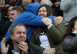 Derby County fans in the stands