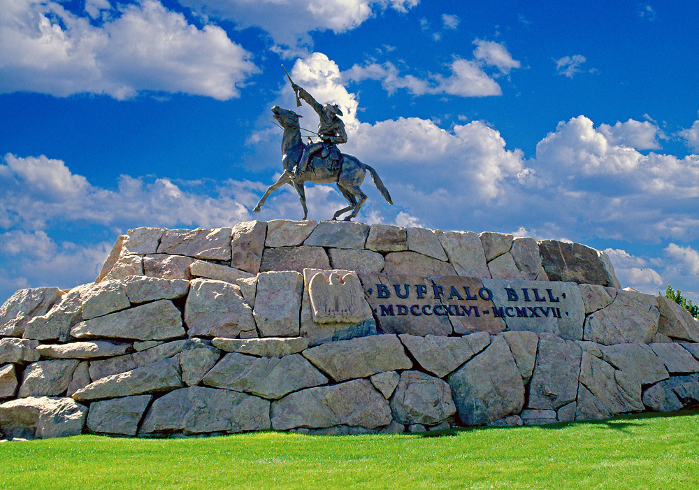 Buffalo Bill - The Scout, statue, Cody, Wyoming, sculpted by Gertrude Vanderbilt Whitney
