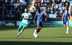 Frank Nouble of Colchester United on the ball - Mandatory by-line: Arron Gent/JMP - 08/02/2020 - FOOTBALL - JobServe Community Stadium - Colchester, England - Colchester United v Plymouth Argyle - Sky Bet League Two
