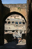 Ancient roman monument the Colosseum, Rome, Italy<br />