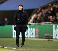 Tottenham's Mauricio Pochettino looks on during  the Champions League group match at Wembley Stadium, London. Picture date December 7th, 2016 Pic David Klein/Sportimage