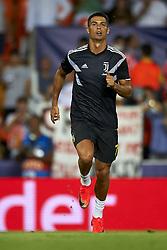 September 19, 2018 - Valencia, Spain - Cristiano Ronaldo during the Group H match of the UEFA Champions League between Valencia CF and Juventus at Mestalla Stadium on September 19, 2018 in Valencia, Spain. (Credit Image: © Jose Breton/NurPhoto/ZUMA Press)