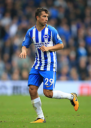 15 October 2017 -  Premier League - Brighton and Hove Albion v Everton - Marus Suttner of Brighton and Hove Albion - Photo: Marc Atkins/Offside