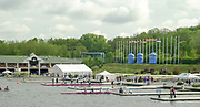 Poznan, POLAND.   2004 FISA World Cup, Malta Lake Course.  <br /> <br /> Men's lightweight double scull final<br /> <br /> General Views of the Malta Rowing Course. <br /> <br /> 09.05.2004<br /> <br /> [Mandatory Credit:Peter SPURRIER/Intersport Images]