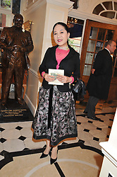 The DOWAGER VISCOUNTESS ROTHERMERE at a reception hosted by the Friends of the Castle of Mey held at the Goring Hotel, Beeston Place, London on 22nd May 2012.