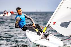 , Kieler Woche 16.06. - 24.06.2018, Laser 4,7 - ITA 213755 - Cesare BARABINO - Yacht Club Olbia