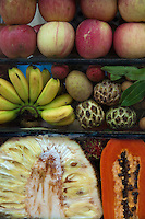 Fruit vendors and fruit shakes are a Cambodian favorite.  No matter how small or modest the town you can always count on finding fresh cut fruits, and probably a fruit juice vendor as well.