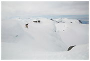 Angus Leith shot for Adidas Snowboarding and The Reason Snowboard Magazine