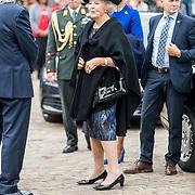NLD/Tilburg/20170916 - Beatrix bij opening jubileum expositie 25 jaar museum De Pont, aankomst