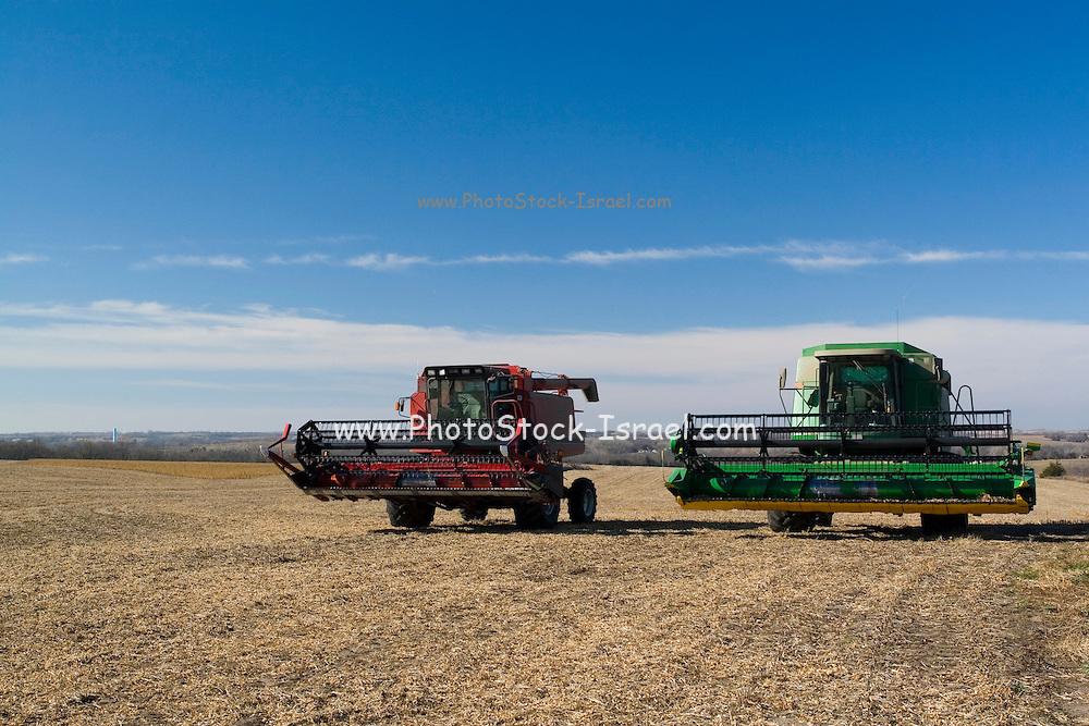 Kansas KS USA, Farming harvesting equipment