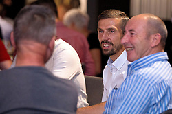 Gary O'Neil of Bristol City mingles with guests during the Lansdown Club event - Mandatory by-line: Robbie Stephenson/JMP - 06/09/2016 - GENERAL SPORT - Ashton Gate - Bristol, England - Lansdown Club -
