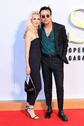 Portia Freeman and Peter Denton attending the UK Premiere of A Star is Born held at the Vue West End, Leicester Square, London. Photo credit should read: Doug Peters/EMPICS
