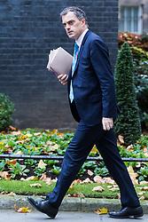 London, November 07 2017.New Chief Whip Julian Smith walks up Downing Street to No. 10. © Paul Davey