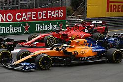 May 26, 2019 - Monte Carlo, Monaco - xa9; Photo4 / LaPresse.26/05/2019 Monte Carlo, Monaco.Sport .Grand Prix Formula One Monaco 2019.In the pic: Charles Leclerc (MON) Scuderia Ferrari SF90 (Credit Image: © Photo4/Lapresse via ZUMA Press)