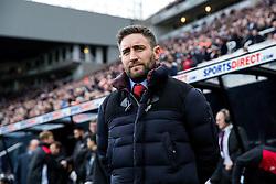 Bristol City manager Lee Johnson - Rogan Thomson/JMP - 25/02/2017 - FOOTBALL - St James' Park - Newcastle, England - Newcastle United v Bristol City - Sky Bet EFL Championship.