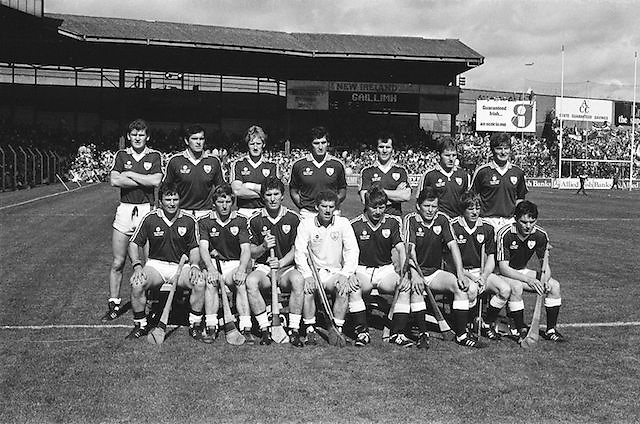 Galway team at the All Ireland Senior Hurling Championship Final, Galway Vs Offaly,Offaly 2-11, Galway 1-12, 1st September 1985, Galway, P Murphy, O Kilkenny, C  Hayes, S  Linnane, P  Finnerty, A  Keady, A  Kilkenny, M Connolly (capt ), S Mahon, M McGrath, B Lynskey, Joe Cooney, B Forde, N Lane, PJ Molloy, Subs, J Murphy for McGrath, A Cunningham for Forde, M Haverty for Connolly, Referee G Ryan (Tipperary).