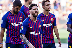 August 15, 2018 - Leo Messi from Argentina during the Joan Gamper trophy game between FC Barcelona and CA Boca Juniors in Camp Nou Stadium at Barcelona, on 15 of August of 2018, Spain. (Credit Image: © AFP7 via ZUMA Wire)