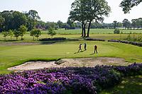 WINTERSWIJK -  Hole 1. Golf & Country Club Winterswijk, golfbaan De Voortwisch.     COPYRIGHT  KOEN SUYK