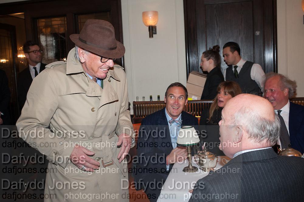NICKY HASLAM; A.A.GILL, Vanity Fair Lunch hosted by Graydon Carter. 34 Grosvenor Sq. London. 14 May 2013