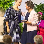 NLD/Middelburg/20180516 -Four Freedom Awards 2018, De internationale Freedom Award wordt uitgereikt aan Christina Figueres, vertegenwoordiger van het Paris Climate Agreement