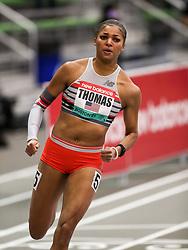 New Balance Indoor Grand Prix<br /> Staten Island, New York, February 13, 2021<br /> womens 300m, New Balance