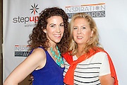 Jenni Luke, Executive Director, Step Up Women's Network and Carri McClure