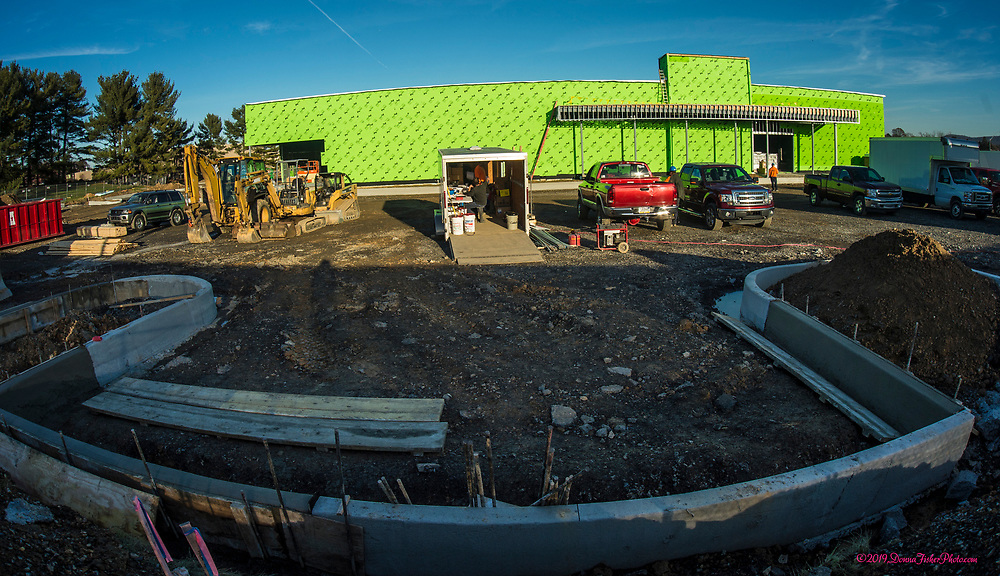 Work continues on the new Dave and Busters restaurant at rt. 22 and MacArthur Road in Whitehall Twp., Lehigh County, Pa.. Picture made November 26, 2019. Donna Fisher Photography, LLC