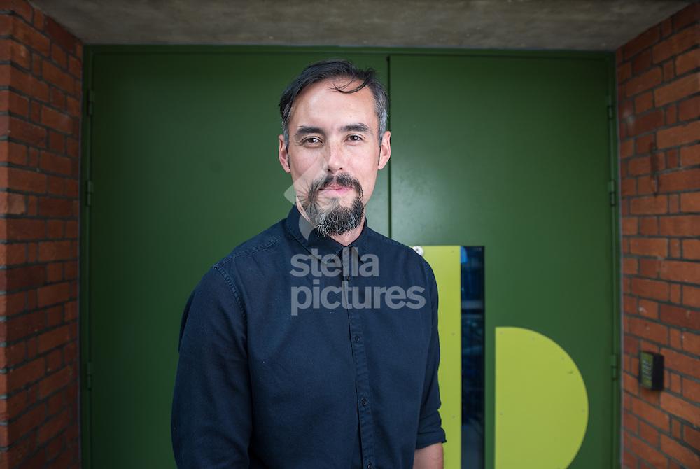 British actor Steven John Shepherd pictured at Bush Theatre, Shepard's Bush, London.<br /> Picture by Daniel Hambury/Stella Pictures Ltd +44 7813 022858<br /> 15/09/2014