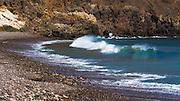 Waves at Scorpion Cove, Santa Cruz Island, Channel Islands National Park, California USA