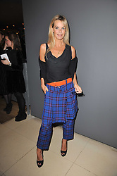 EMMA WOOLLARD at a Burns Night dinner in aid of cancer charity CLIC Sargent held at St.Martin's Lane Hotel, London on 25th January 2011.