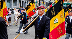Bruges, Belgium - National Day - Veterans parade through the streets of Bruges<br /> <br /> (c) Andrew Wilson | Edinburgh Elite media