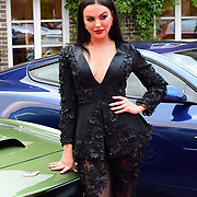Rosie Anna Williams attends the 2018 Grand Prix Ball held at The Hurlingham Club on July 4, 2018 in London, England.
