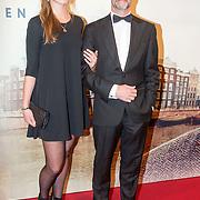 NLD/Amsterdam/20151130 - Film Premiere Publieke Werken, Frank Ketelaar met zijn dochter