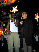 Wyclef Jean & Bono of U2 <br />