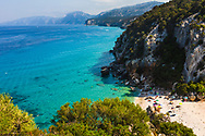 Secluded small beach on the east coast of Sardinia
