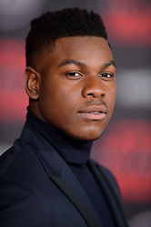 John Boyega attends the world premiere of Disney Pictures and Lucasfilm's 'Star Wars: The Last Jedi' at The Shrine Auditorium on December 9, 2017 in Los Angeles, CA, USA. Photo by Lionel Hahn/ABACAPRESS.COM