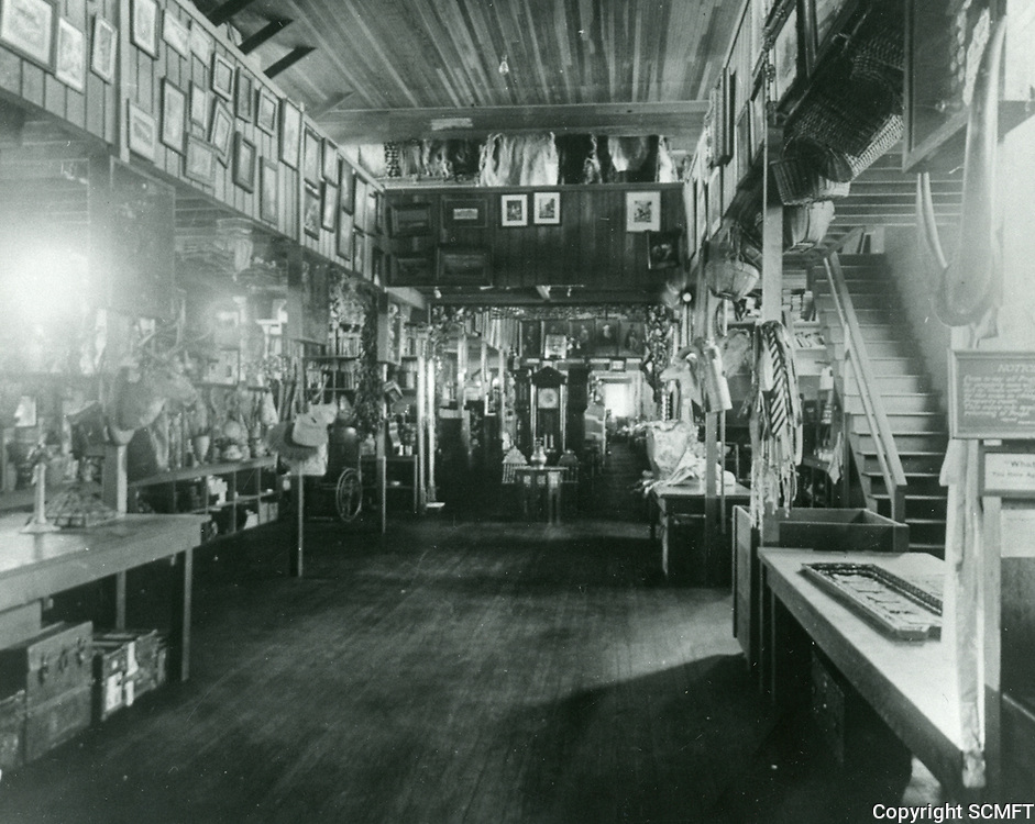1916 Prop room at Thomas Ince Studios in Culver City, later MGM Studios