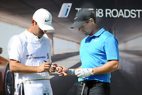 Golf - 2019 BMW PGA Championship - Thursday, First Round<br /> <br /> A dejected Rory McIlroy of Ireland marks  his 2nd ball before hitting it off the tee at the 18th at the West Course, Wentworth Golf Club.<br /> <br /> COLORSPORT/ANDREW COWIE