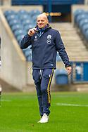 Scotland head coach, Gregor Townsend during the Scotland Team Run at BT Murrayfield, Edinburgh, Scotland on 22 October 2020, ahead of Scotland v Georgia.