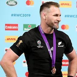 Kieran Read (c) of New Zealand (All Blacks) during the Bronze Final match between New Zealand and Wales Mandatory by-line: Steve Haag Sports/JMPUK - 01/11/2019 - RUGBY - Tokyo Stadium - Tokyo, Japan - New Zealand v Wales - Bronze Final - Rugby World Cup Japan 2019